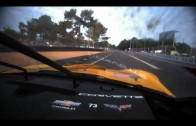 2011 24 Hours Le Mans Corvette Onboard Entering Morning Hours