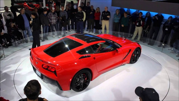 2013 Chicago Auto Show C7 Corvette Stingray