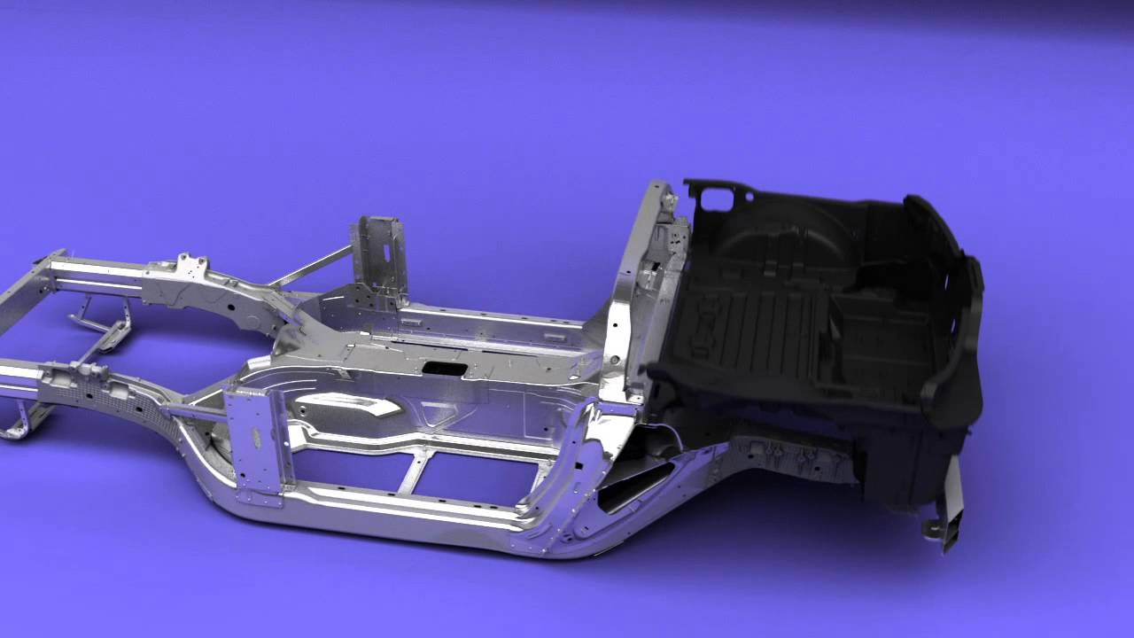 2014 Chevrolet Corvette Stingray Build Animation