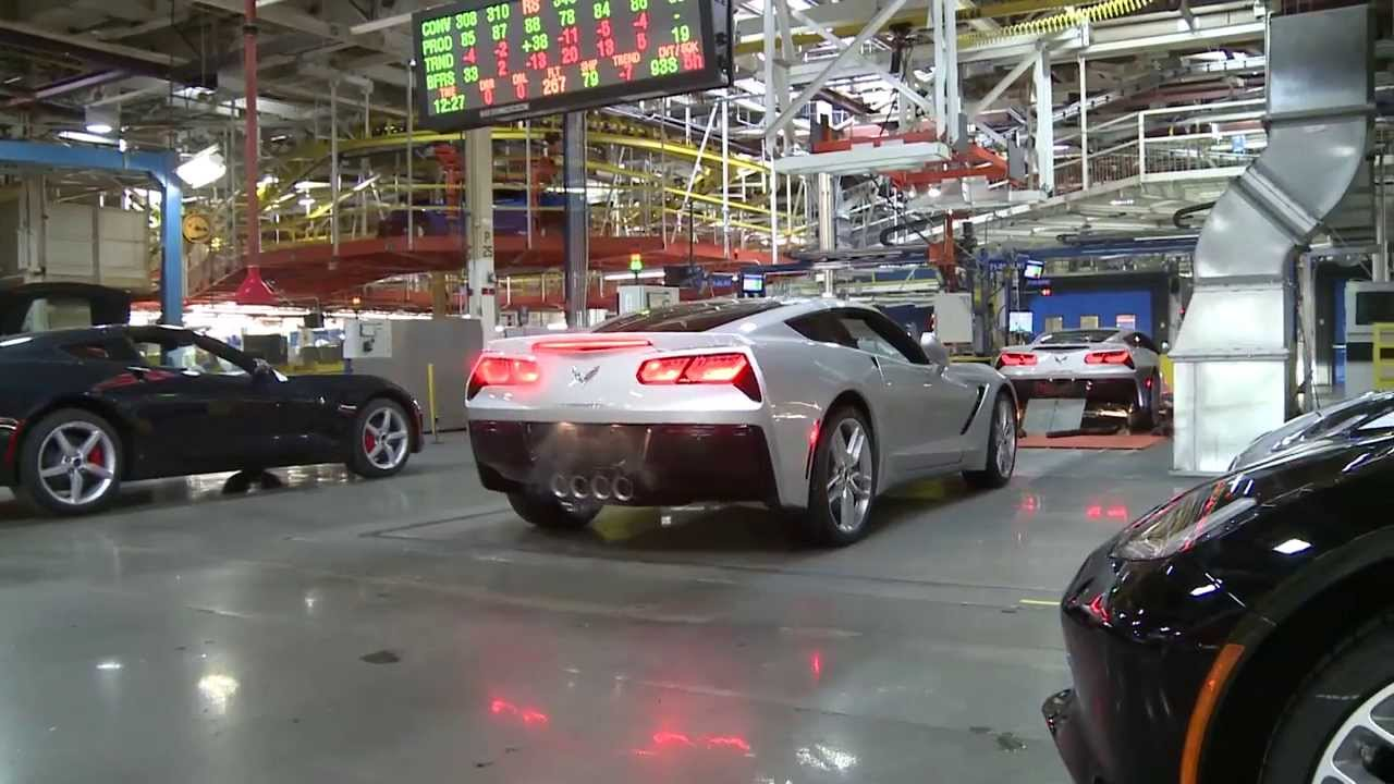 2014 Corvette Stingray Production at the Bowling Green Assembly Plant
