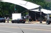 2014 Corvette Stingray Spied During Filming of Captain America: The Winter Soldier