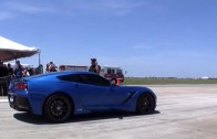 LMR C7 Corvette Goes 175 MPH in the Houston Half Mile