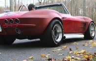 64 Corvette Stingray Vanishes in a Cloud of Smoke