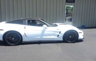 C6 Corvette ZR1 Does a 1/4 Mile Burnout
