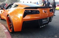 Forgiato Widebody Corvette Stingray at Cars and Coffee