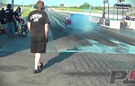 Insane 3,000 hp Twin Turbo C6 Corvette at the Dragstrip