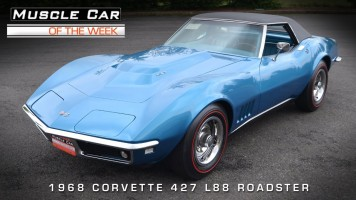 Muscle Car Of The Week: 1968 Chevrolet Corvette L88 427 Roadster
