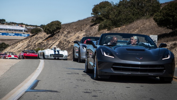 Pebble Beach 2013: Corvette Caravan – Jay Leno's Garage