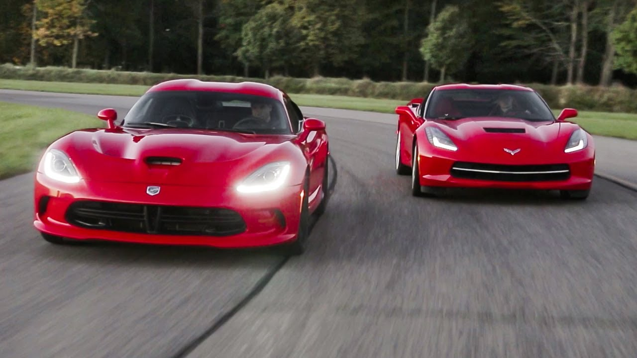 Snake And Stingray 2014 Srt Viper Gts And 2014 Chevrolet