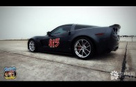 Supercharged Corvette Z06 Runs 195 MPH at the Texas Mile