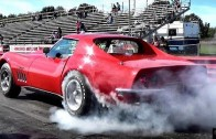 $1 Million Burnout ? Ultra Rare 427 L88 Corvette 1/4 Mile Drag Race Video