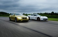 2015 BMW M4 vs. 2014 Chevrolet Corvette Stingray