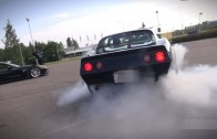 CORVETTE ACTION!! C3 427 Burnout and C6 Z06 Donuts!