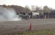 INSANE!!!! Chevrolet Corvette C6 Dangerous Drifting
