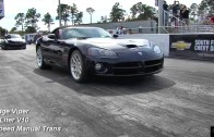 2014 Corvette C7 vs Dodge Viper – 1/4 Mile Drag Race Video – Road Test TV