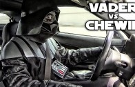 Darth Vader vs Chewbacca – Street Racing