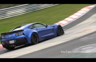 2015 Corvette Z06 on the Nurburgring