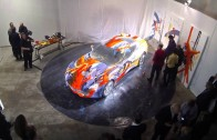 Corvette Stingray Canvas: Performance Art Car at the MOCAD