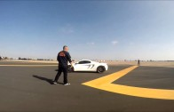 Corvette Z06 Beats a McLaren 12C in Roll Race