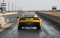 2015 C7 Corvette Stingray with 8-Speed Auto – 1/4 Mile Testing