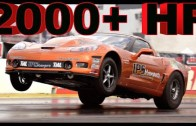 2000+ HP Twin Turbo Corvette Z06 RIPS down the strip!