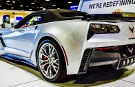 2015 Corvette Z06 Convertible Presentation at the 2015 Detroit Auto Show
