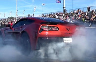 2015 Corvette Z06 w/ Pulley and Tune – 1/4 Mile Drag Video