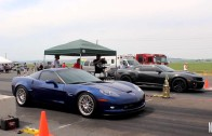 C6 Corvette Z06 vs 5th Gen Camaro at East vs West