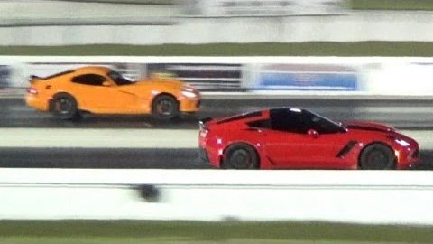 2015 Corvette Z06 vs Dodge Viper – Is AWD Needed ??