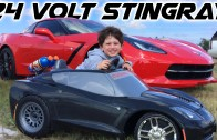 C7 Stingray Corvette owner in training! 24V Powerwheels