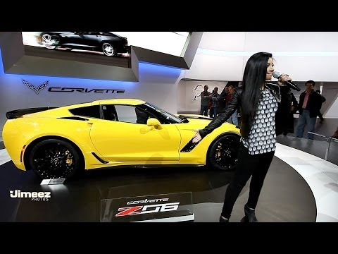 Corvette Z06 Presentation at the 2015 Chicago Auto Show