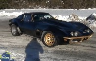 Crazy Corvette Stingray ON ICE