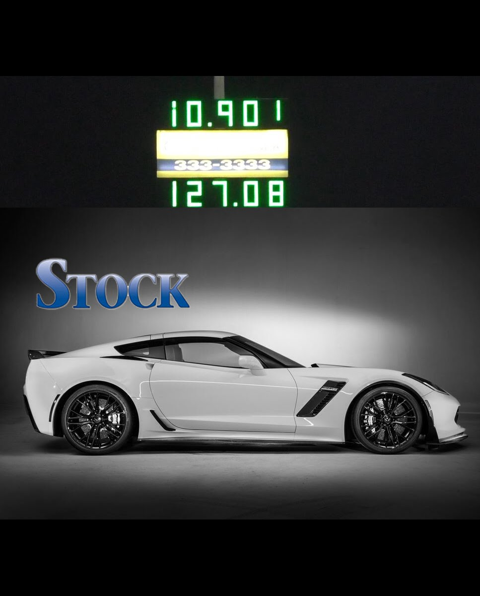 10 Second Stock 2015 Z06! – 2015 C7 Chevrolet Corvette Drag Race