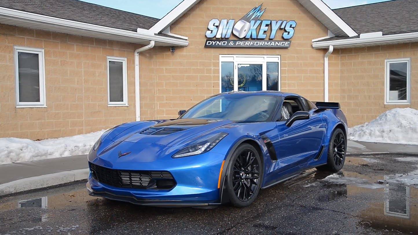 2015 Chevrolet Corvette Z06 at Smokey's Dyno & Performance
