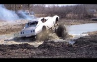 C3 Corvette 4×4 Goes Mud Bogging