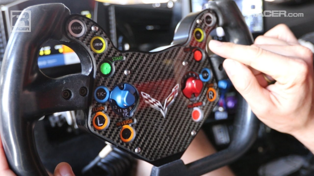 Inside the Corvette C7.R Cockpit with Oliver Gavin