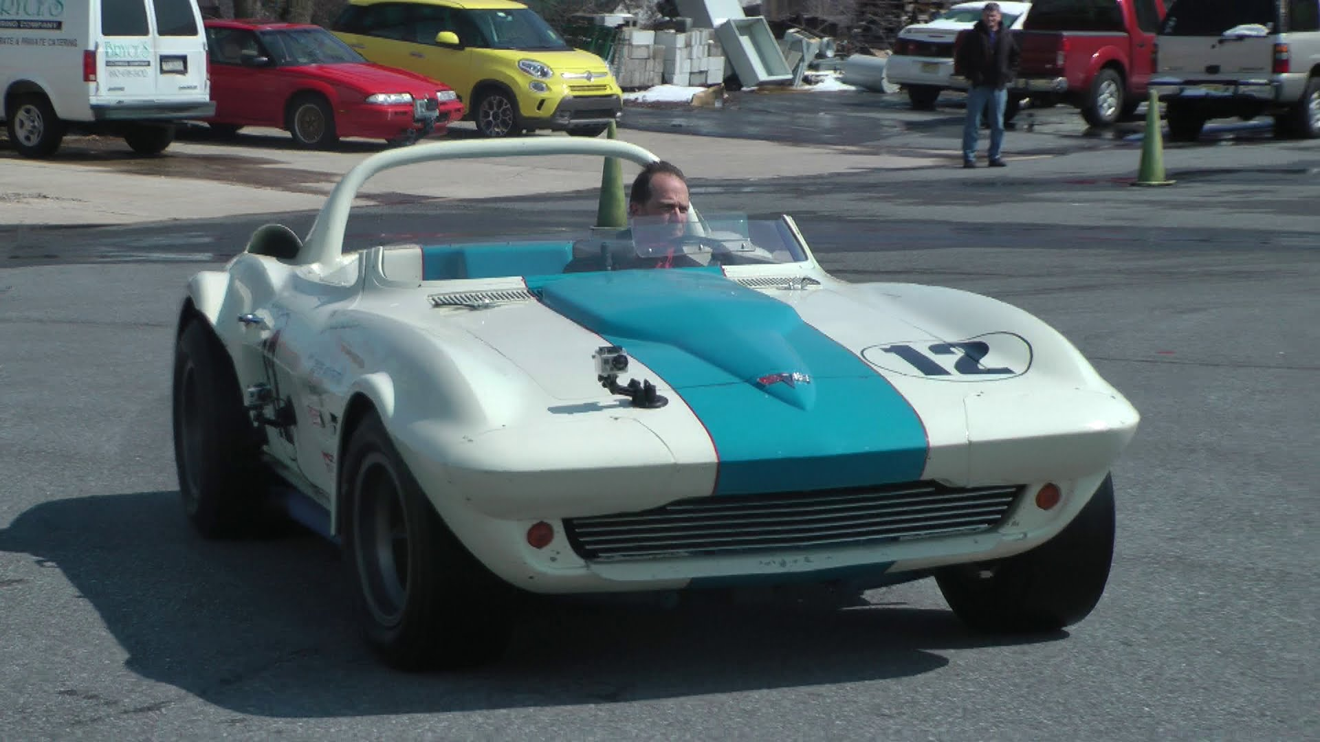 Original 1963 Corvette Grand Sport Driven at the Simeone Museum