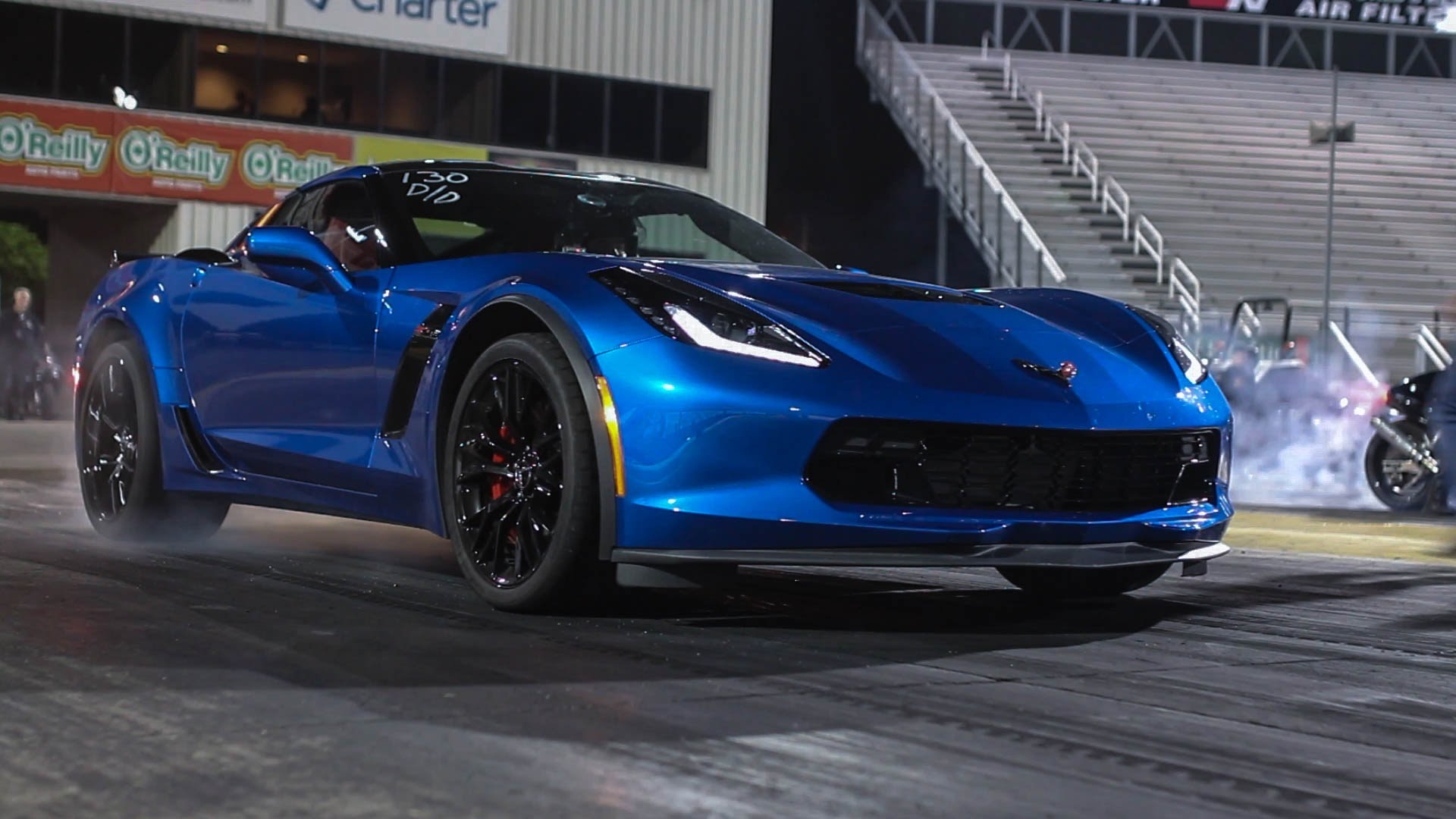 HER 2015 C7 Corvette Z06 runs 10s 100% STOCK!!!