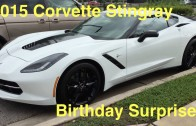 Surprising My Dad With A 2015 Corvette C7 Stingray Z51 For His Birthday