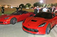 60-190MPH Corvette Street Race – C6 Z06 vs C7 Stingray