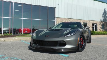 C7 Corvette Z06 Takes off like a Bat out of Hell