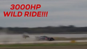 3000 HP Corvette Gets AIirborne at the WannaGOFAST Half-mile!