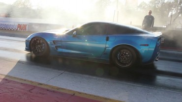 Fasterproms MANUAL ZR1 runs 9.61 @ 148 mph!!