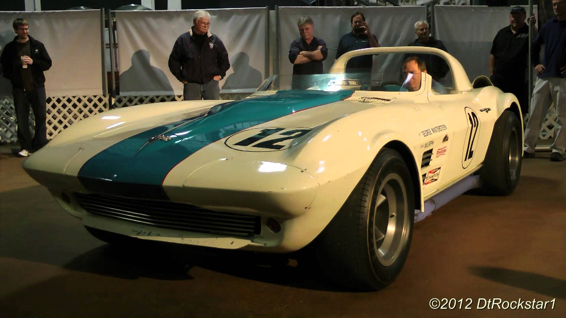 Original 1963 Corvette Grand Sport Startup | CorvetteVideos.TV
